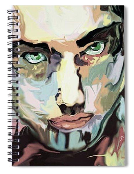 Serious Face Spiral Notebook