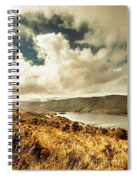 Serpentine Dam Tasmania Spiral Notebook