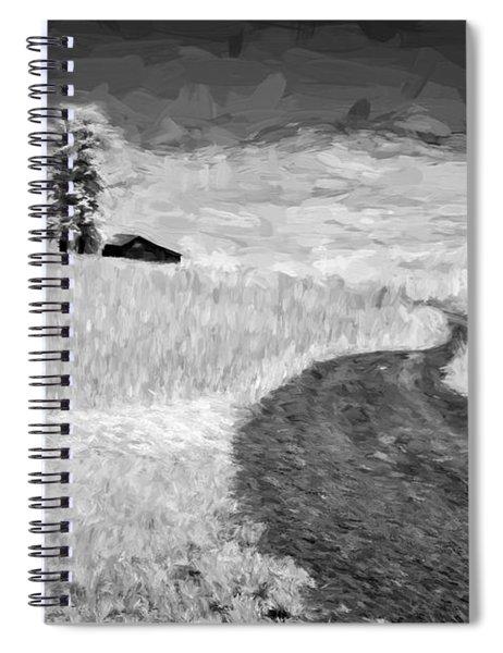 Serpentine Passage II Spiral Notebook
