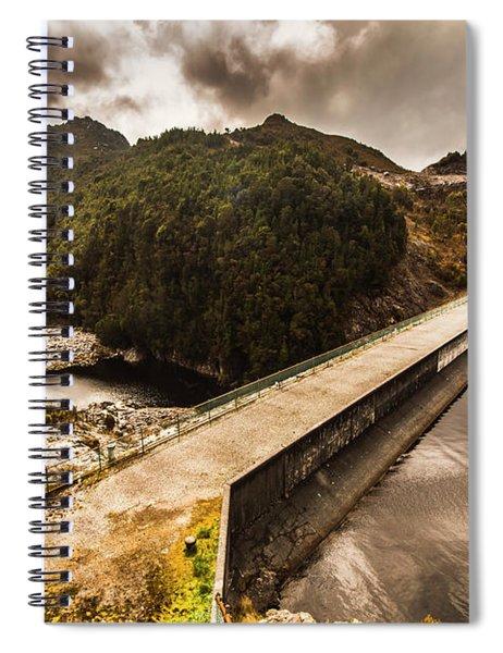 Serpentine River Crossing Spiral Notebook