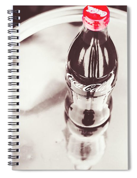 Service At The Soda Shop Spiral Notebook