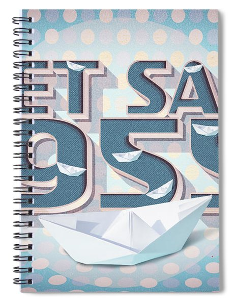Set Sail 1955 Spiral Notebook