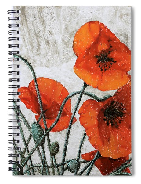 Sette Papaveri Spiral Notebook