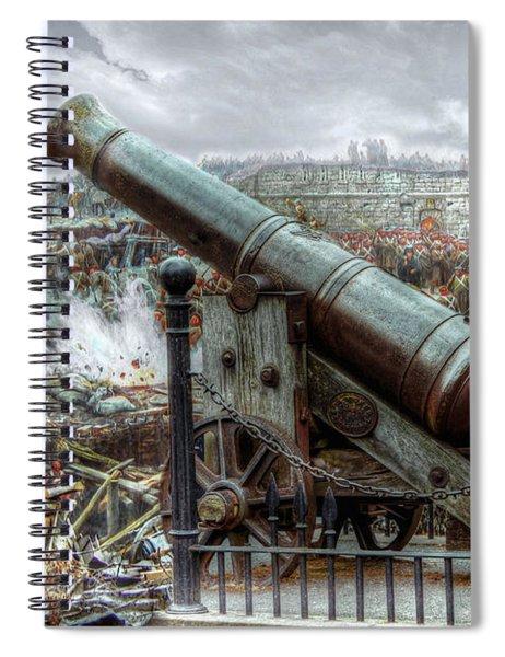 Sevastopol Cannon 1855 Spiral Notebook