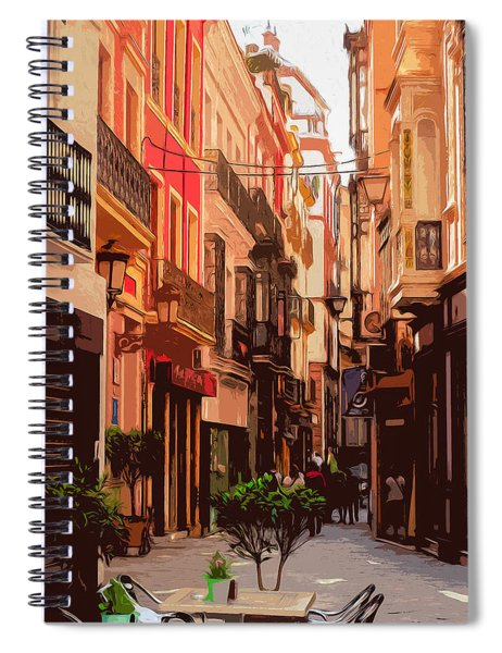 Seville, The Colorful Streets Of Spain - 02 Spiral Notebook
