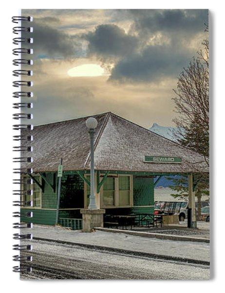 Seward Alaska 2017 Spiral Notebook