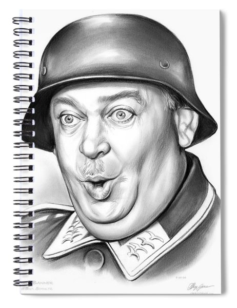 Sgt Schultz Spiral Notebook