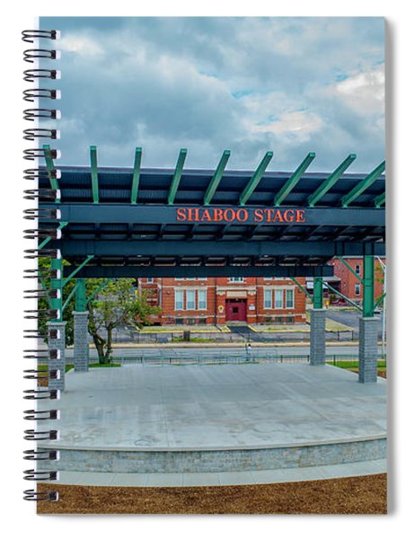 Shaboo Stage  Spiral Notebook