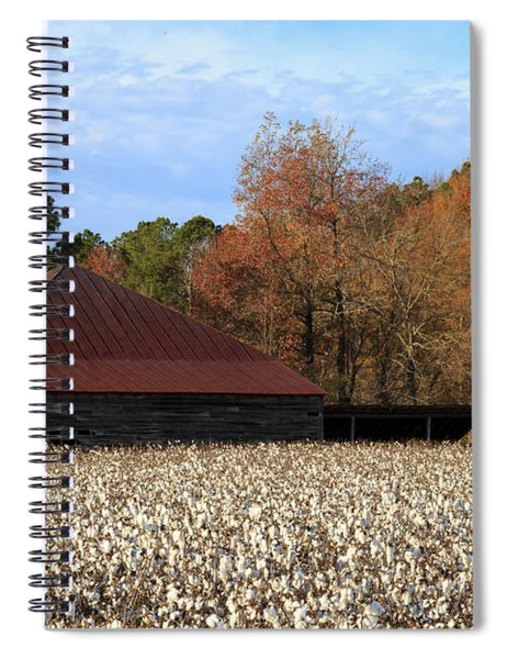 Shack In The Field Spiral Notebook