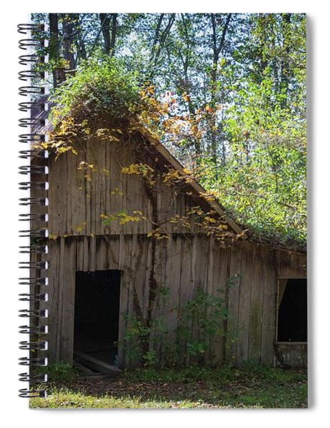 Shack In The Woods Spiral Notebook
