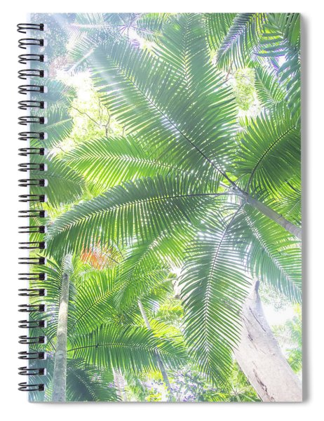 Shade Of Eden  Spiral Notebook
