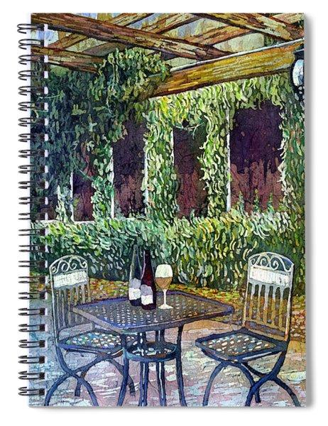 Shades Of Van Gogh Spiral Notebook