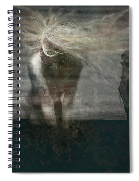 Shadow Girl Spiral Notebook