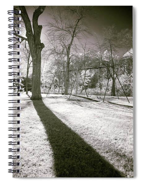 Shadow Of A Memory Spiral Notebook