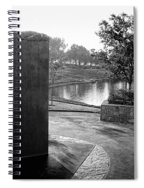 Shadow Of Heroes Spiral Notebook