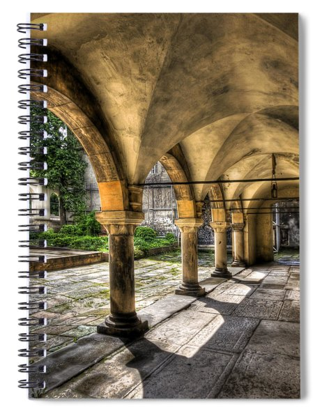 Shadow Of The Day Spiral Notebook