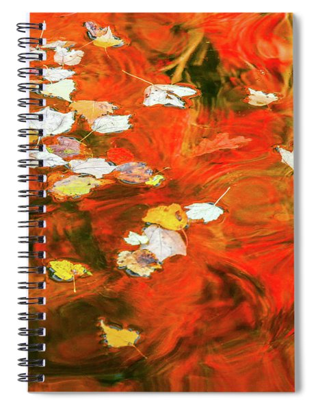 Shadow Of The Red Dragon Spiral Notebook