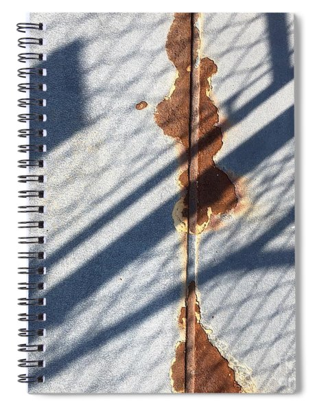 Shadow On Seam Spiral Notebook