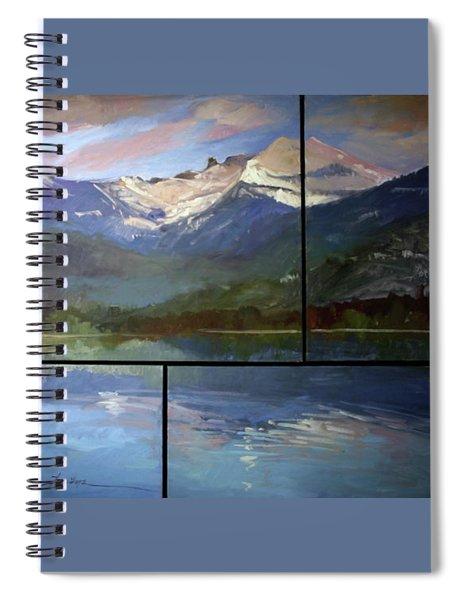 Shadow Side Of Winter Spiral Notebook