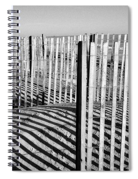 Shadows And Light Spiral Notebook
