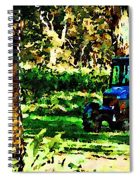 Shady Tractor Spiral Notebook