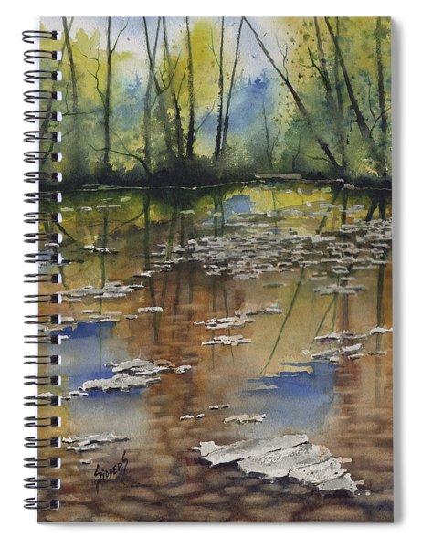 Shallow Water Spiral Notebook