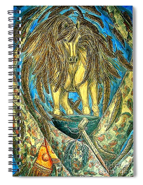 Shaman Spirit Spiral Notebook