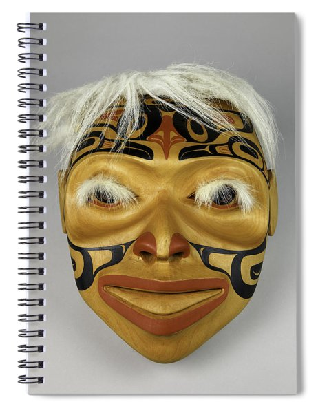 Shaman's Mask Spiral Notebook
