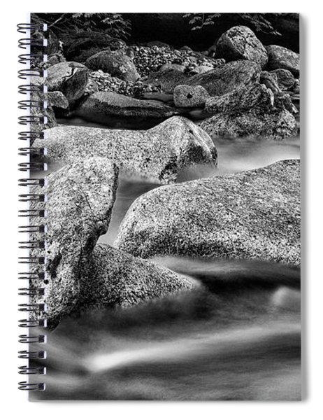 Shannon Creek -bw Spiral Notebook