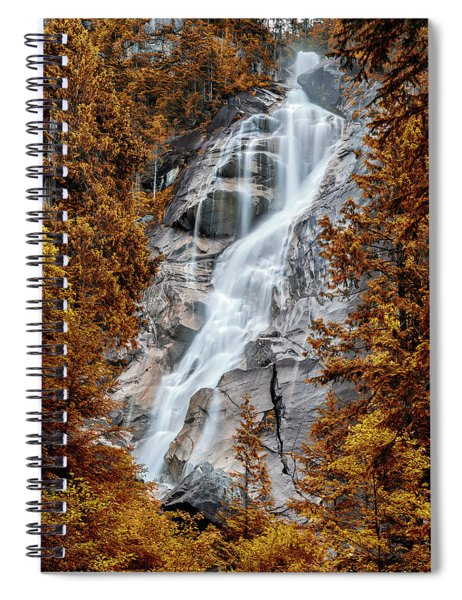 Shannon Falls - Indian Summer Spiral Notebook