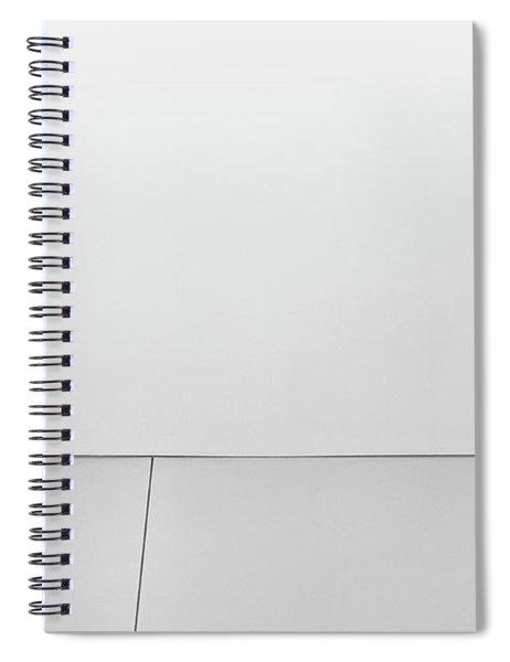 Shape And Line I Spiral Notebook