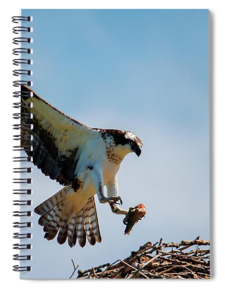 Sharing Lunch Spiral Notebook