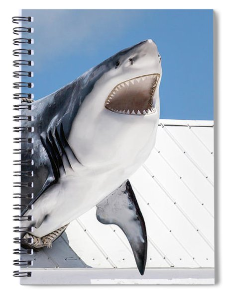 Shark Attack Spiral Notebook