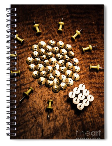 Sharp Business Idea Spiral Notebook
