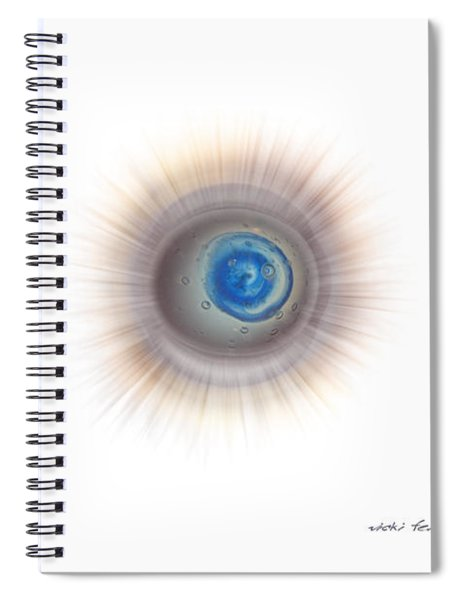 Sharp Cloud Spiral Notebook