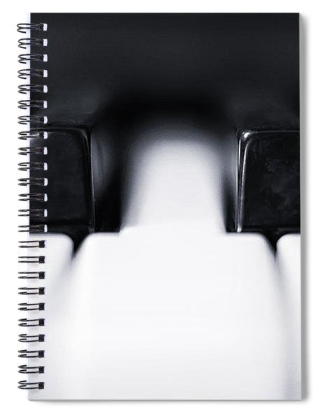 Sharp Or Flat Spiral Notebook