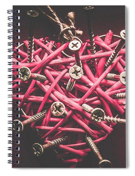 Sharp Pains Of Heartbreak Spiral Notebook
