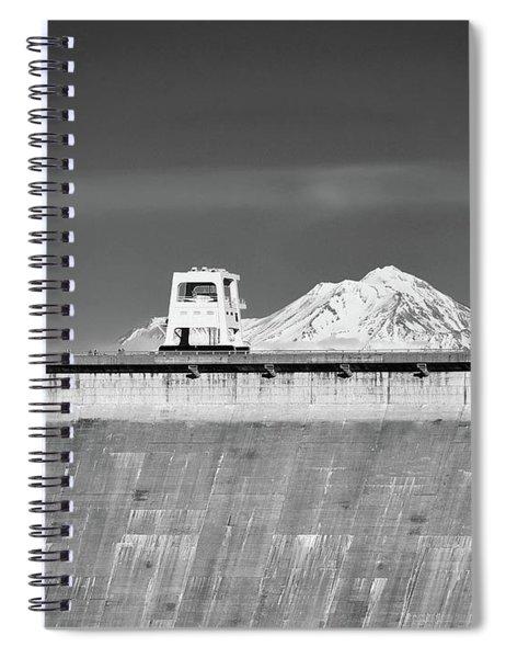 Shasta Dam  Spiral Notebook