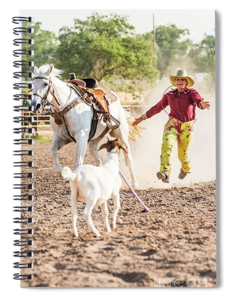 Shawnee Sagers Goat Roping Competition Spiral Notebook