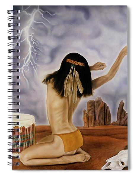 She Called The Rain Spiral Notebook