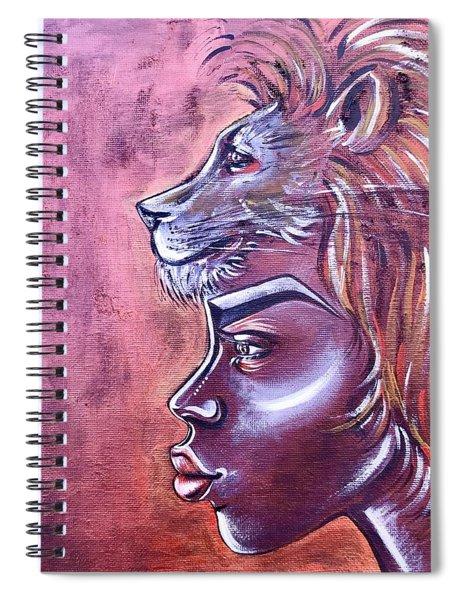 She Has Goals Spiral Notebook
