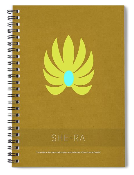 She-ra Princess Of Power My Favorite Tv Shows Series 014 Spiral Notebook