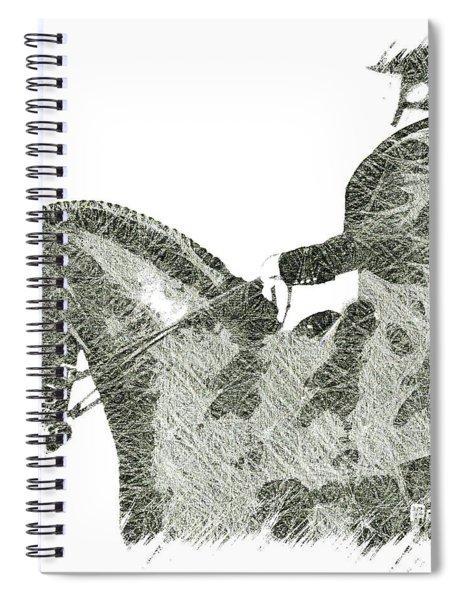 She Rides Spiral Notebook