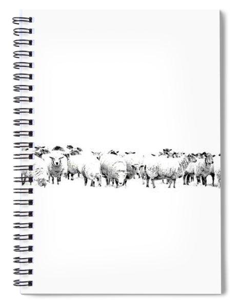 Sheeple  Spiral Notebook