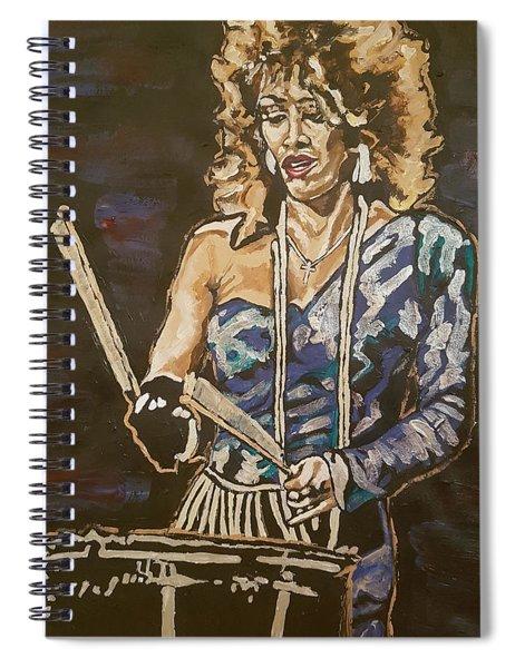 Sheila E Spiral Notebook
