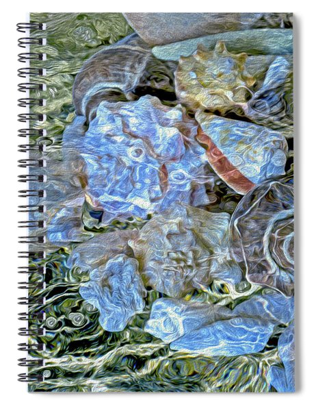Shells Underwater 20 Spiral Notebook
