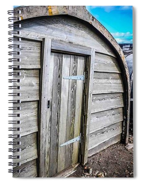 Shelter Spiral Notebook