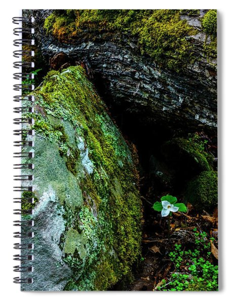 Sheltered By The Rock Spiral Notebook