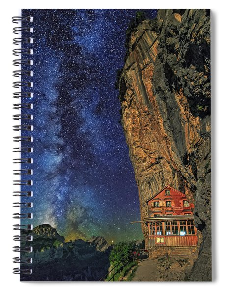 Sheltered From The Vastness Spiral Notebook