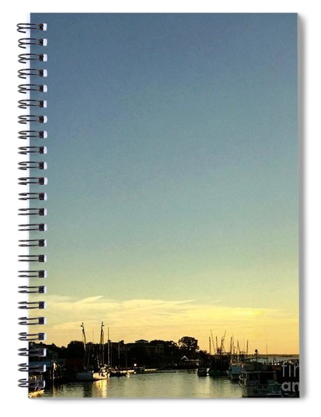 Shem Creek Spiral Notebook